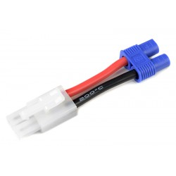 GF-1301-047 cble adaptateur - Tamiya Femelle / EC-3 Femelle - 14AWG cble silicone - 1 pc
