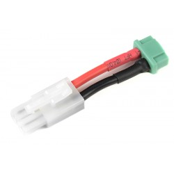 GF-1301-048 cble adaptateur - Tamiya Femelle / MPX Femelle - 14AWG cble silicone - 1 pc