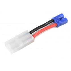 GF-1301-051 cble adaptateur - Tamiya Male / EC-2 Male - 14AWG cble silicone - 1 pc