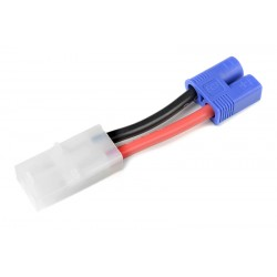 GF-1301-052 cble adaptateur - Tamiya Male / EC-3 Male - 14AWG cble silicone - 1 pc