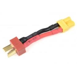 GF-1301-078 cble adaptateur - Deans Femelle / XT-30 Femelle - 14AWG cble silicone - 1 pc