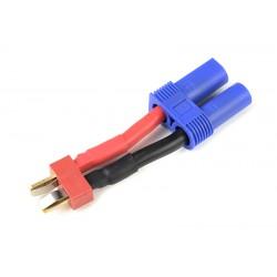 GF-1301-085 cble adaptateur - Deans Femelle / EC-5 Femelle - 12AWG cble silicone - 1 pc