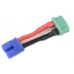 GF-1301-095 cble adaptateur - EC-2 Male / MPX Femelle - 14AWG cble silicone - 1 pc