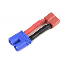 GF-1301-100 cble adaptateur - Deans Male / EC-3 Male - 12AWG cble silicone - 1 pc