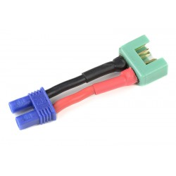 GF-1301-102 cble adaptateur - EC-2 Femelle / MPX Male - 14AWG cble silicone - 1 pc