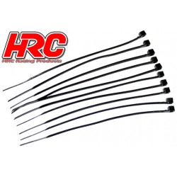HRC5031 Tie-Wraps - Medium (140mm) - Noir (10 pces)