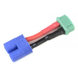 GF-1301-107 cble adaptateur - EC-3 Male / MPX Femelle - 14AWG cble silicone - 1 pc