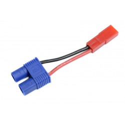 GF-1301-111 cble adaptateur - EC-3 Femelle / BEC Male - 20AWG cble silicone - 1 pc