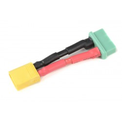 GF-1301-131 cble adaptateur - XT-30 Male / MPX Femelle - 14AWG cble silicone - 1 pc