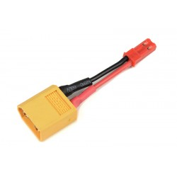 GF-1301-136 cble adaptateur - XT-60 Male / BEC Femelle - 20AWG cble silicone - 1 pc