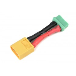 GF-1301-140 cble adaptateur - XT-60 Male / MPX Femelle - 14AWG cble silicone - 1 pc