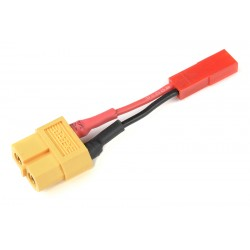 GF-1301-142 cble adaptateur - XT-60 Femelle / BEC Male - 20AWG cble silicone - 1 pc