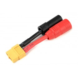 GF-1301-146 cble adaptateur - XT-60 Femelle / AS-150 + XT-150 Male - 12AWG cble silicone - 1 pc