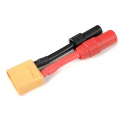 GF-1301-147 cble adaptateur - XT-90 Male / AS-150 + XT-150 Femelles - 10AWG cble silicone - 1 pc