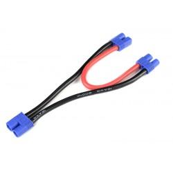 GF-1320-090 Cordon-Y - Série - EC-3 - 12AWG cble silicone - 12cm - 1 pc