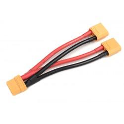 GF-1321-021 Cordon-Y - Parallèle - XT-90 - 10AWG cble silicone - 12cm - 1 pc