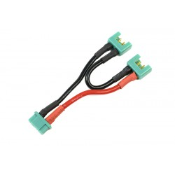 GF-1321-060 Cordon-Y - Série - MPX - 14AWG cble silicone - 12cm - 1 pc