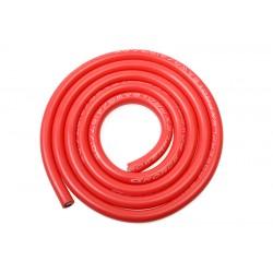 GF-1341-010 cble silicone - Powerflex PRO+ - Rouge - 8AWG - 4197/0.05 Brins - DE 6.5mm - 1m