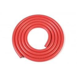 GF-1341-020 cble silicone - Powerflex PRO+ - Rouge - 10AWG - 2683/0.05 Brins - DE 5.5mm - 1m