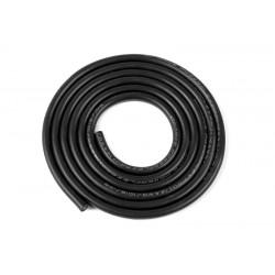 GF-1341-041 cble silicone - Powerflex PRO+ - Noir - 14AWG - 1018/0.05 Brins - DE 3.5mm - 1m