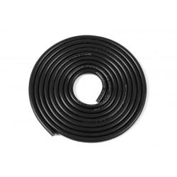 GF-1341-061 cble silicone - Powerflex PRO+ - Noir - 18AWG - 380/0.05 Brins - DE 2.3mm - 1m