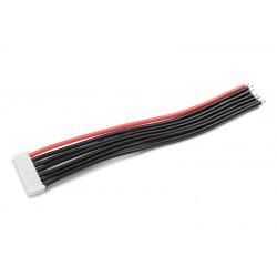 GF-1415-005 Connecteur d'équilibrage - Male - 6S-EH avec cble - 10cm - cble silicone 22AWG - 1 pc