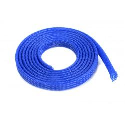 GF-1476-011 Manchon de protection pour cbles - Tressée - 6mm - Bleu - 1m