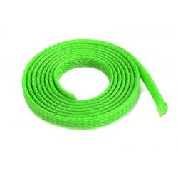 GF-1476-014 Manchon de protection pour cbles - Tressée - 6mm - Neon Vert - 1m