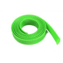 GF-1476-034 Manchon de protection pour cbles - Tressée - 10mm - Neon Vert - 1m
