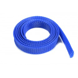 GF-1476-041 Manchon de protection pour cbles - Tressée - 14mm - Bleu - 1m