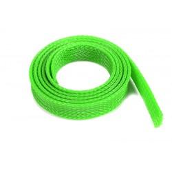 GF-1476-044 Manchon de protection pour cbles - Tressée - 14mm - Neon Vert - 1m