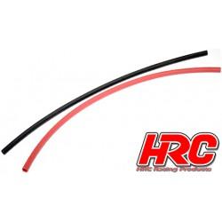 HRC5131 Gaine Thermorétractable - 4mm - rouge et noir (250mm chacun)
