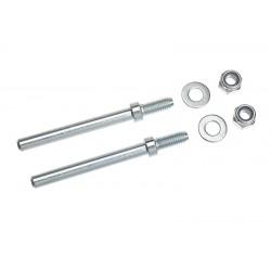 GF-2167-001 Axe de roues pour traà®n d'attérissage - 4mm - 2 pcs