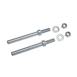 GF-2167-002 Axe de roues pour traà®n d'attérissage - 5mm - 2 pcs