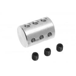 GF-2178-001 Fixation triple pour tige de 2mm - 1 pc
