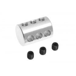 GF-2178-002 Fixation triple pour tige de 3mm - 1 pc