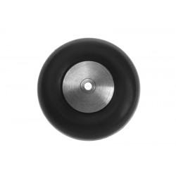GF-2300-004 Roulette de queue - Jante aluminium - 25mm - 1 pc