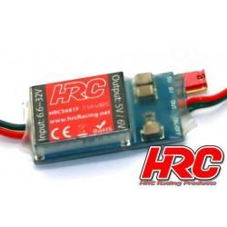 HRC5681F Electronique - UBEC – Entrée 6.6~32V - Sortie 5V ou 6V et 7.5Amp
