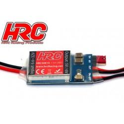 HRC5681G Electronique - UBEC – Entrée 6.6~32V - Sortie 5V ou 6V 7.5Amp - avec interrupteur