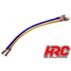 HRC5821 Câble Moteur - Bullet Gold 4mm (Tamiya style)
