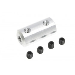 GF-4005-005 Accouplement - Axe Dia. 3/2mm - DE 9mm - 1 pc