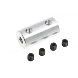 GF-4005-007 Accouplement - Axe Dia. 3.2/3mm - DE 9mm - 1 pc