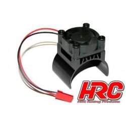 HRC5832BK Radiateur moteur - TOP avec ventilateur Brushless - 5~9 VDC - Moteur 540 – Noir