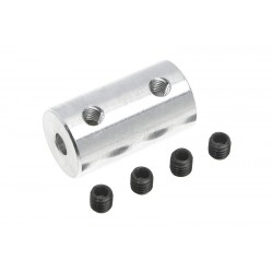 GF-4005-008 Accouplement - Axe Dia. 3.2/4mm - DE 9mm - 1 pc