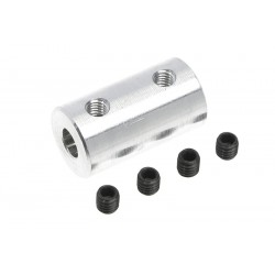 GF-4005-012 Accouplement - Axe Dia. 3.2/4mm - DE 10mm - 1 pc