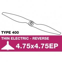 AP-04747EP APC - Hélice électrique - Type 400 - Propulsive – 4.75X4.75EP