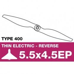 AP-05545EP APC - Hélice électrique - Type 400 - Propulsive - 5.5X4.5EP