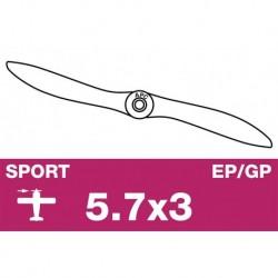 AP-05730 APC - Hélice sport - EP/GP - 5.7X3