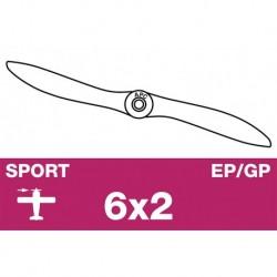AP-06020 APC - Hélice sport - EP/GP - 6X2