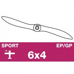 AP-06040 APC - Hélice sport - EP/GP - 6X4